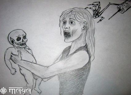 рисунки наркоман